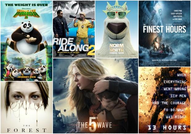 Jan 2016 Movies
