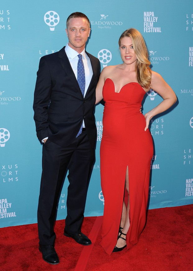 """YOUNTVILLE, CA - NOVEMBER 14: Devon Sawa at the world premiere of """"Life on the Line"""" at the 2015 Napa Valley Film Festival at the Lincoln Theater on November 14, 2015 in Yountville, California. (Photo by Scott Kirkland/PictureGroup)"""