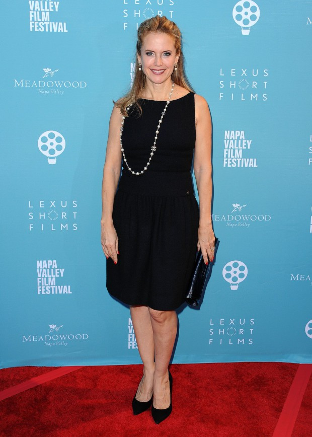 """YOUNTVILLE, CA - NOVEMBER 14: Kelly Preston at the world premiere of """"Life on the Line"""" at the 2015 Napa Valley Film Festival at the Lincoln Theater on November 14, 2015 in Yountville, California. (Photo by Scott Kirkland/PictureGroup)"""