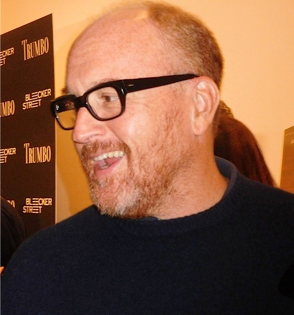 "Louis C.K. at the ""Trumbo"" premiere 
