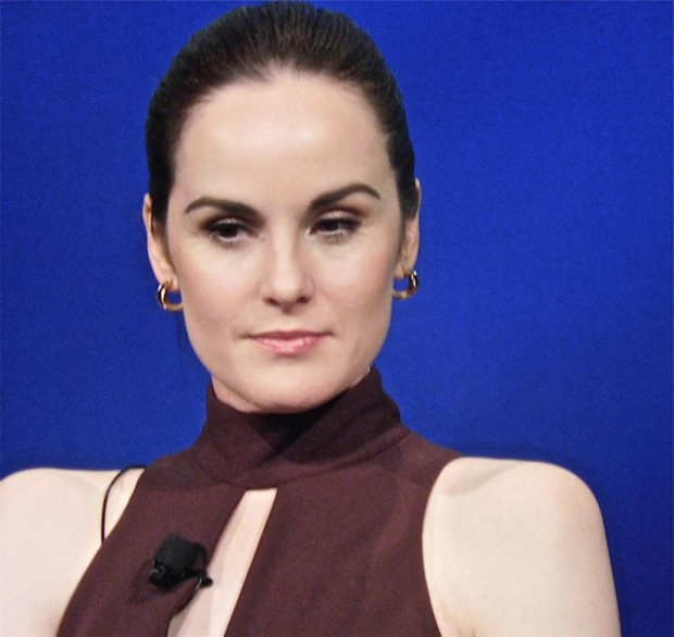 """Downton Abbey"" cast member Michelle Dockery answers questions at a Q&A Dec. 22, 2015 