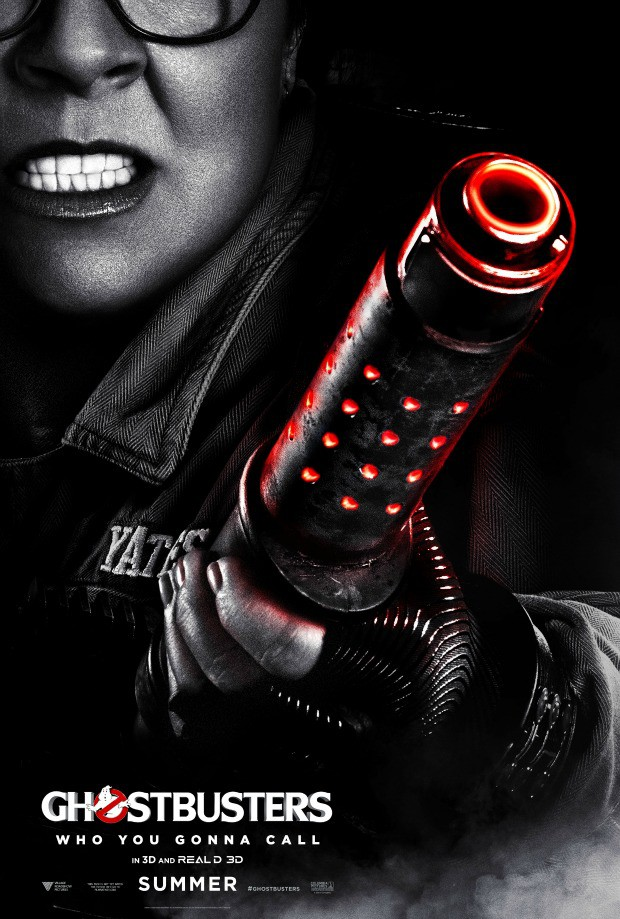 Ghostbusters Poster Melissa