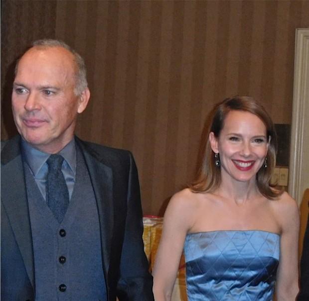 Michael Keaton and Amy Ryan at the 2015 Gotham Awards | Paula Schwartz Photo