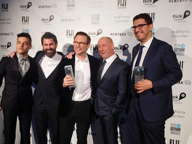 "The cast of ""Mr. Robot"" at the 2015 Gotham Awards | Paula Schwartz Photo"
