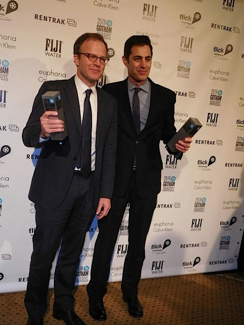 Tom McCarthy and Josh Singer at the 2015 Gotham Awards | Paula Schwartz Photo