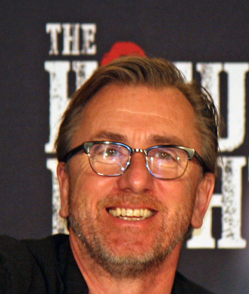 "Tim Roth at the New York press conference for ""The Hateful Eight"" 