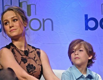 "Brie Larson and Jacob Tremblay of ""Room"" 