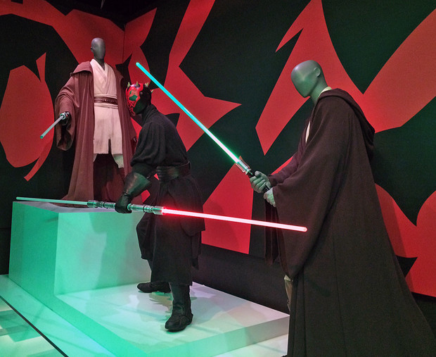 The Star Wars and the Power of Costume exhibit in New York | Melanie Votaw Photo