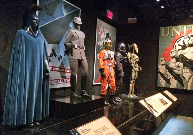 The Star Wars and the Power of Costume exhibit at Discovery Times Square | Melanie Votaw Photo & Star Wars and the Power of Costumeu0027 Exhibit in NYC - Reel Life With Jane