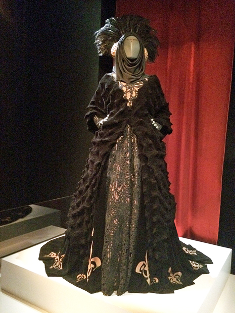 My favorite costumes were those worn by Natalie Portman in the prequels - from the gowns to the warrior costumes, you'll see influences from China, Japan, medieval England, and Erté | Melanie Votaw Photo