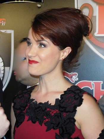 Sierra Boggess at the NYC 'School of Rock' Opening Night | Paula Schwartz Photo