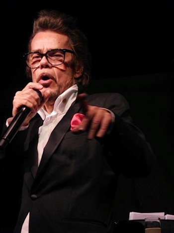 "David Johansen a.k.a. Buster Poindexter at the premiere of the Netflix special, ""A Very Murray Christmas"" 