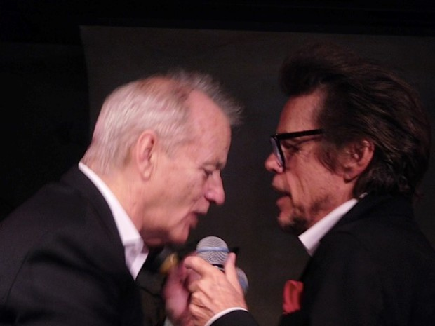 "Bill Murray and David Johansen a.k.a. Buster Poindexter at the premiere of the Netflix special, ""A Very Murray Christmas"" 