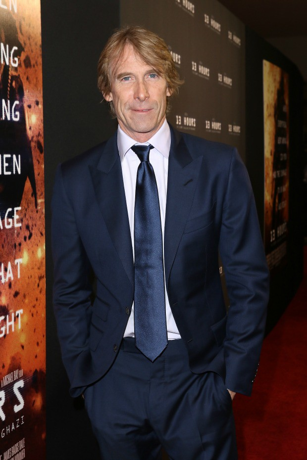 "Michael Bay attends the Miami Fan Screening of the Paramount Pictures film ""13 Hours"" at the AMC Aventura on January 7, 2016 in Miami, Florida."