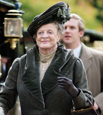 "Maggie Smith in ""Downton Abbey"" 