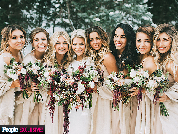 Witney Carson Wedding Bridesmaids