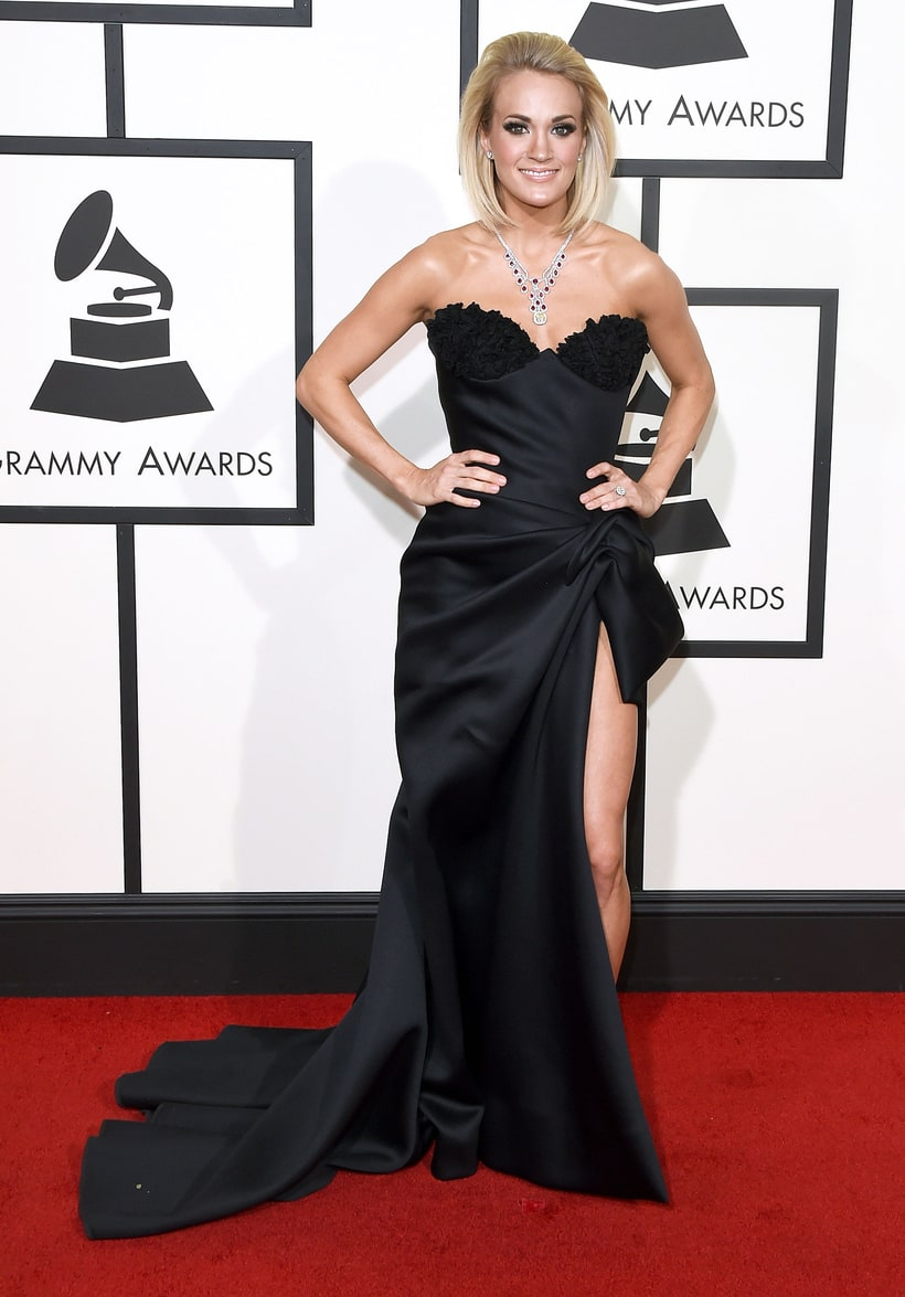 Carrie Underwood, 2016 Grammy Awards, Red Carpet