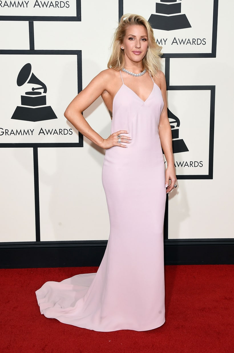 Ellie Goulding, 2016 Grammy Awards, Red Carpet