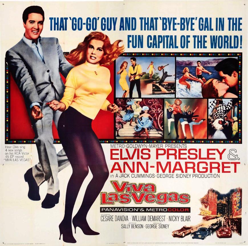 Elvis, Viva Las Vegas Poster