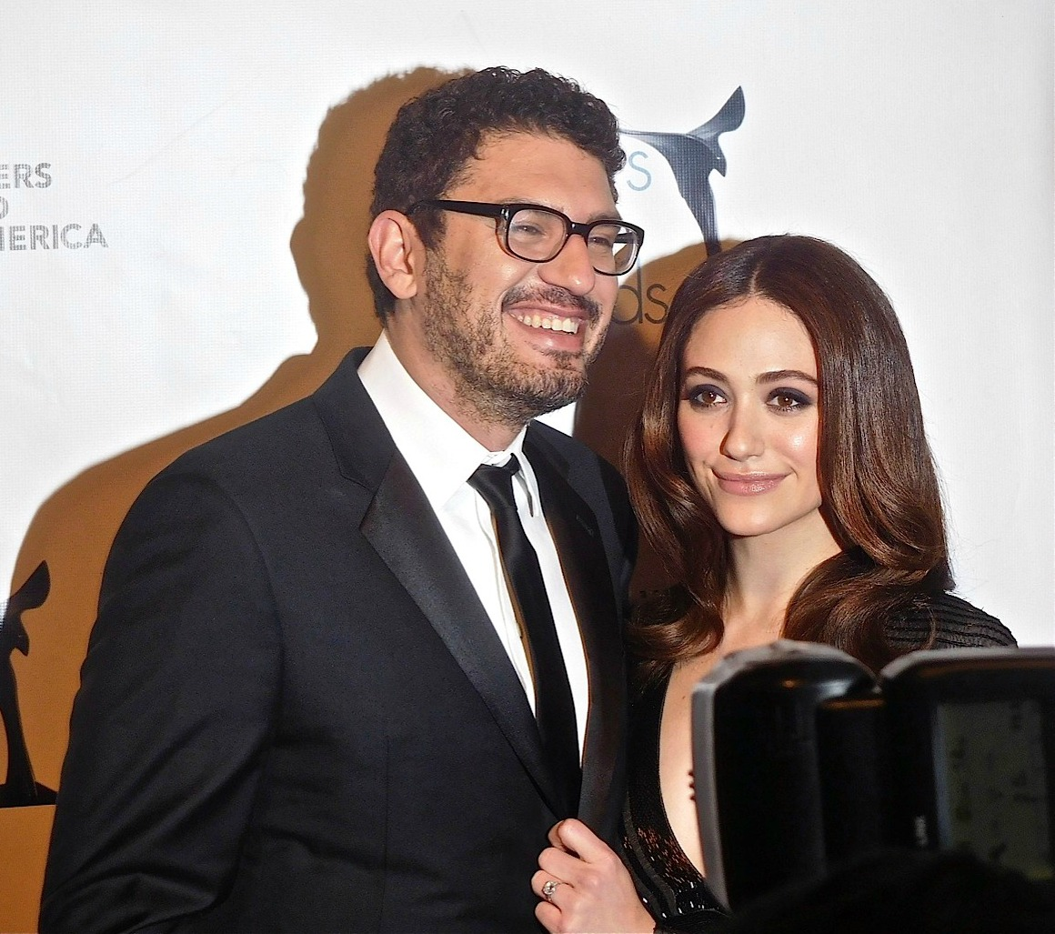 Emmy Rossum Mr Robot Writers Attend Wga Awards 2016 Photo