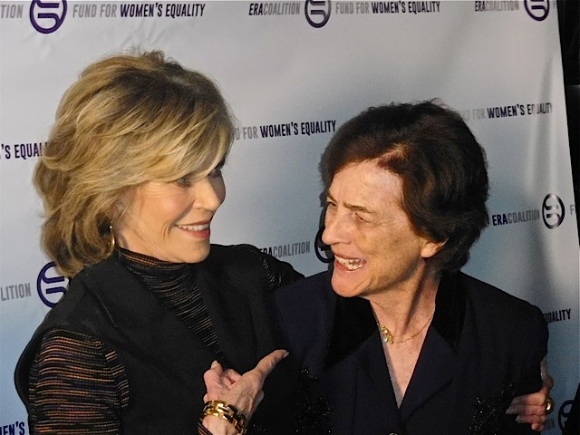 Jane Fonda, Elizabeth Holtzman