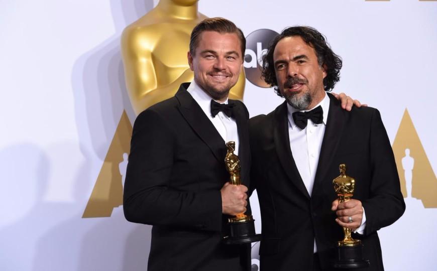 Leonardo DiCaprio, Alejandro Inarritu, Oscars 2016