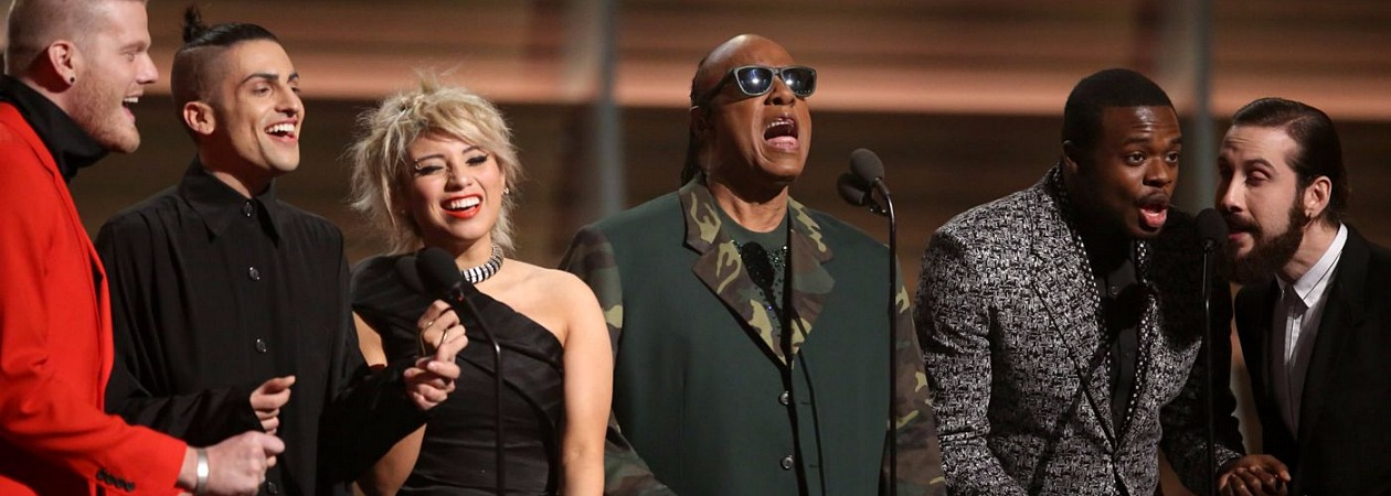 Pentatonix, Stevie Wonder, Grammys 2016