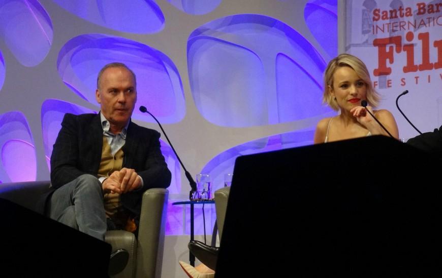 Rachel McAdams, Michael Keaton, Santa Barbara Film Festival