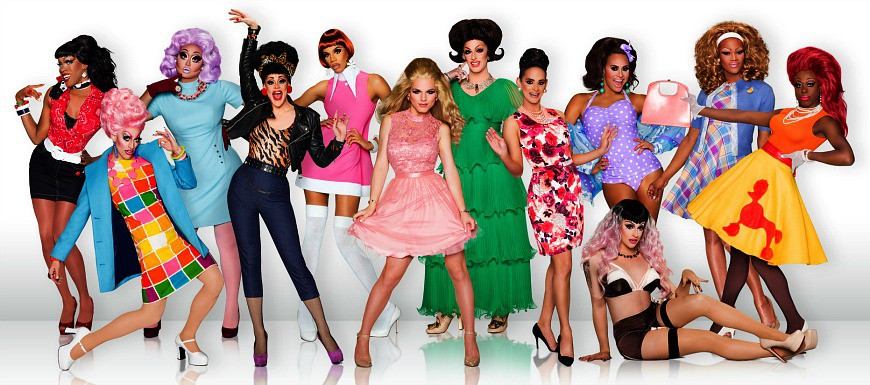 RuPaul's Drag Race - Season 8 Drag Queens