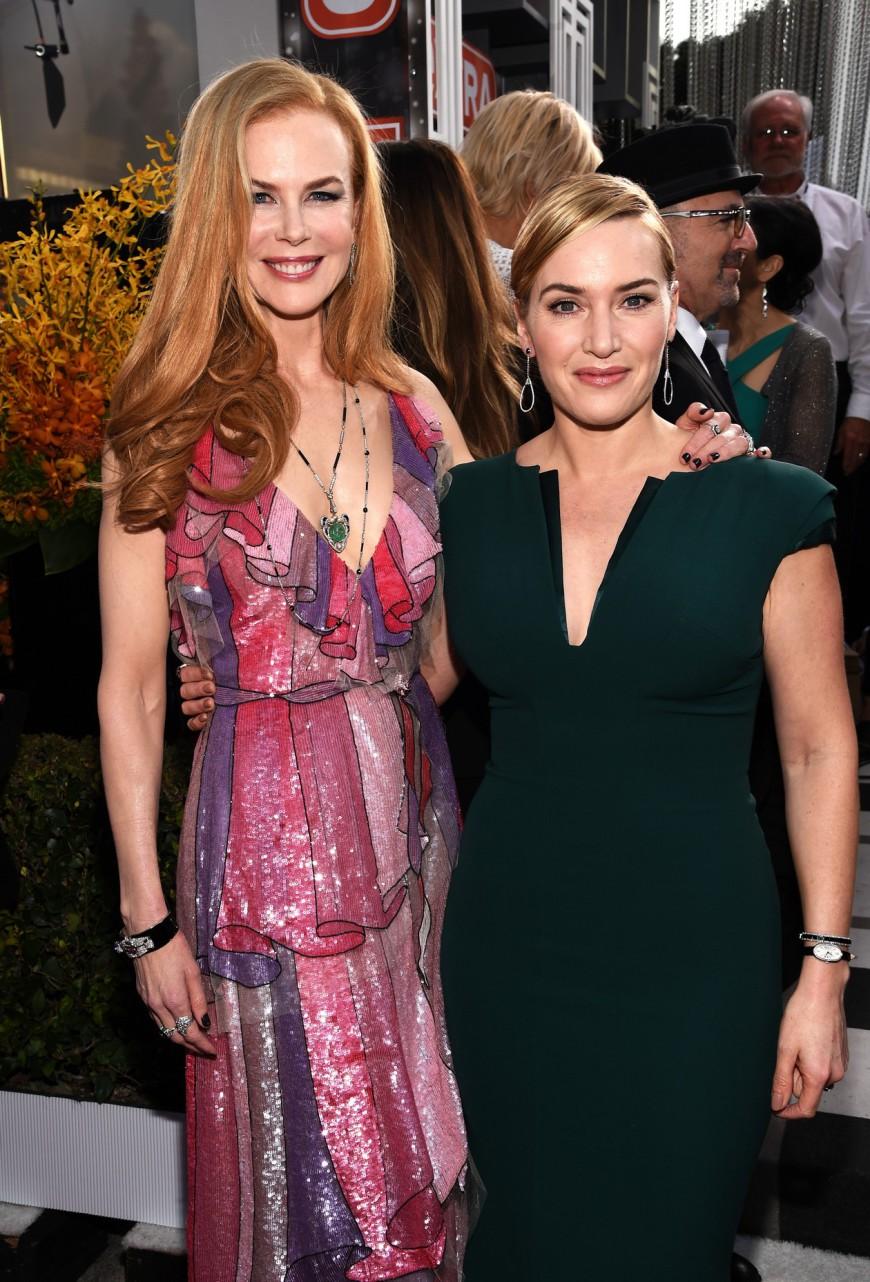 SAG Awards 2016 Kate Winslet Nicole Kidman