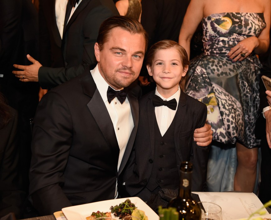 SAG Awards 2016 Leonardo DiCaprio Jacob Tremblay