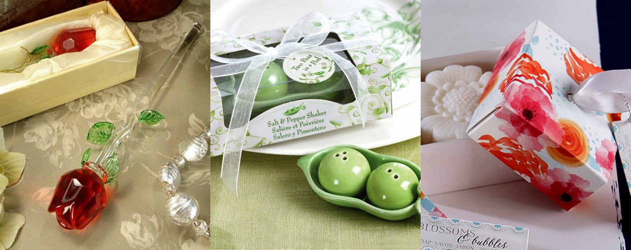 Spring Wedding Favors from HotRef.com