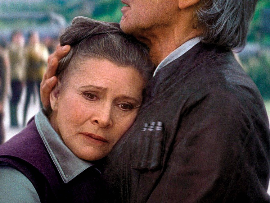 Carrie Fisher, Mental Health, Star Wars