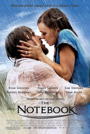 Romantic Movies, The Notebook, Valentine's Day