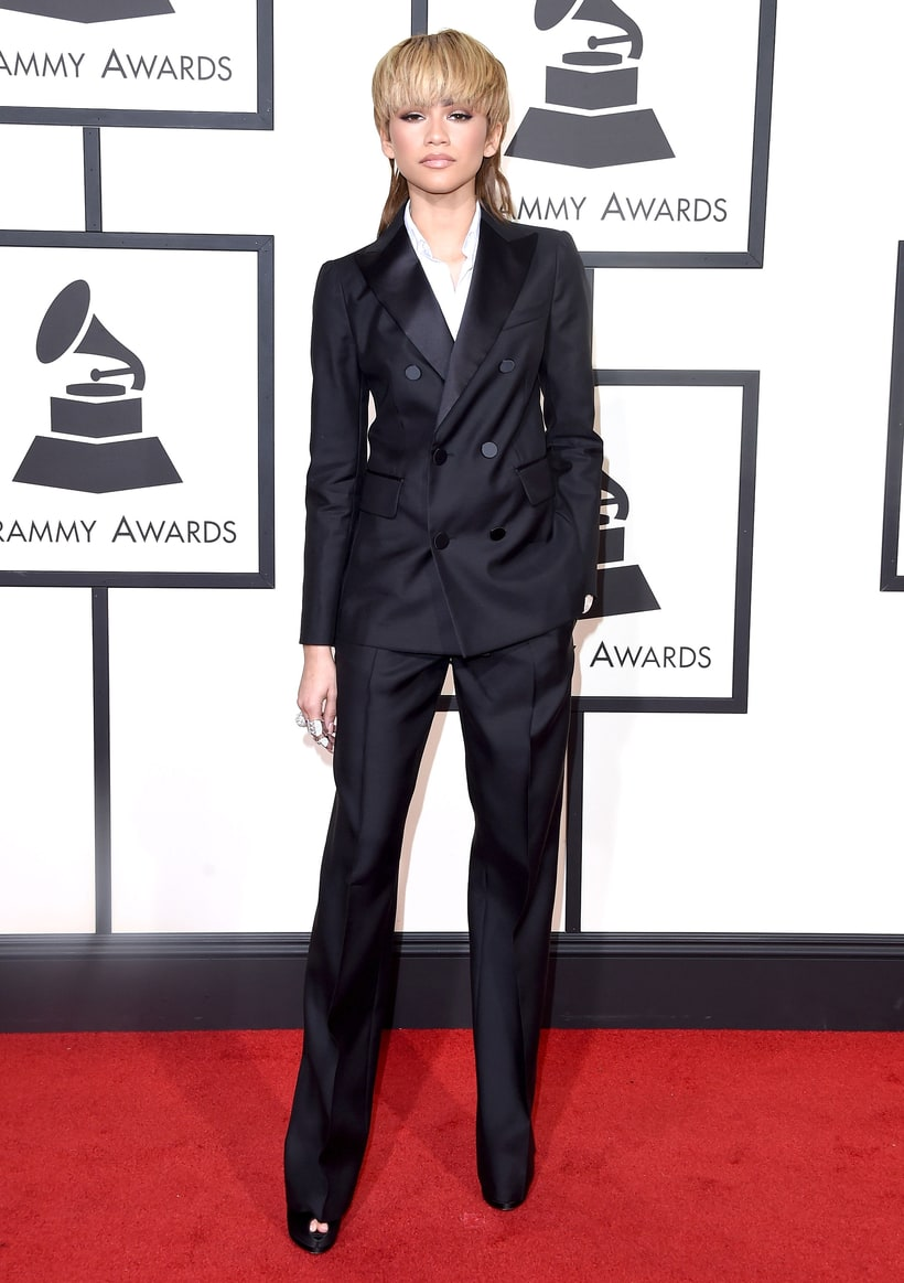 Zendaya, 2016 Grammys, Red Carpet