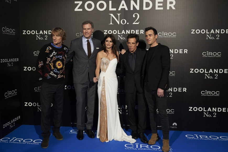 Zoolander 2 Madrid Fan Screening