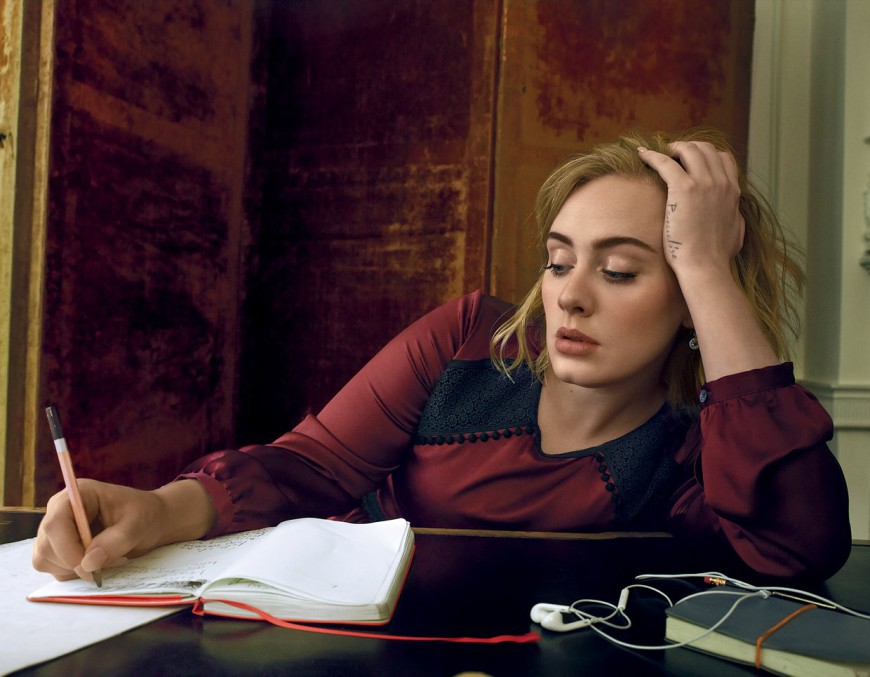 Adele Covers Vogue Magazine