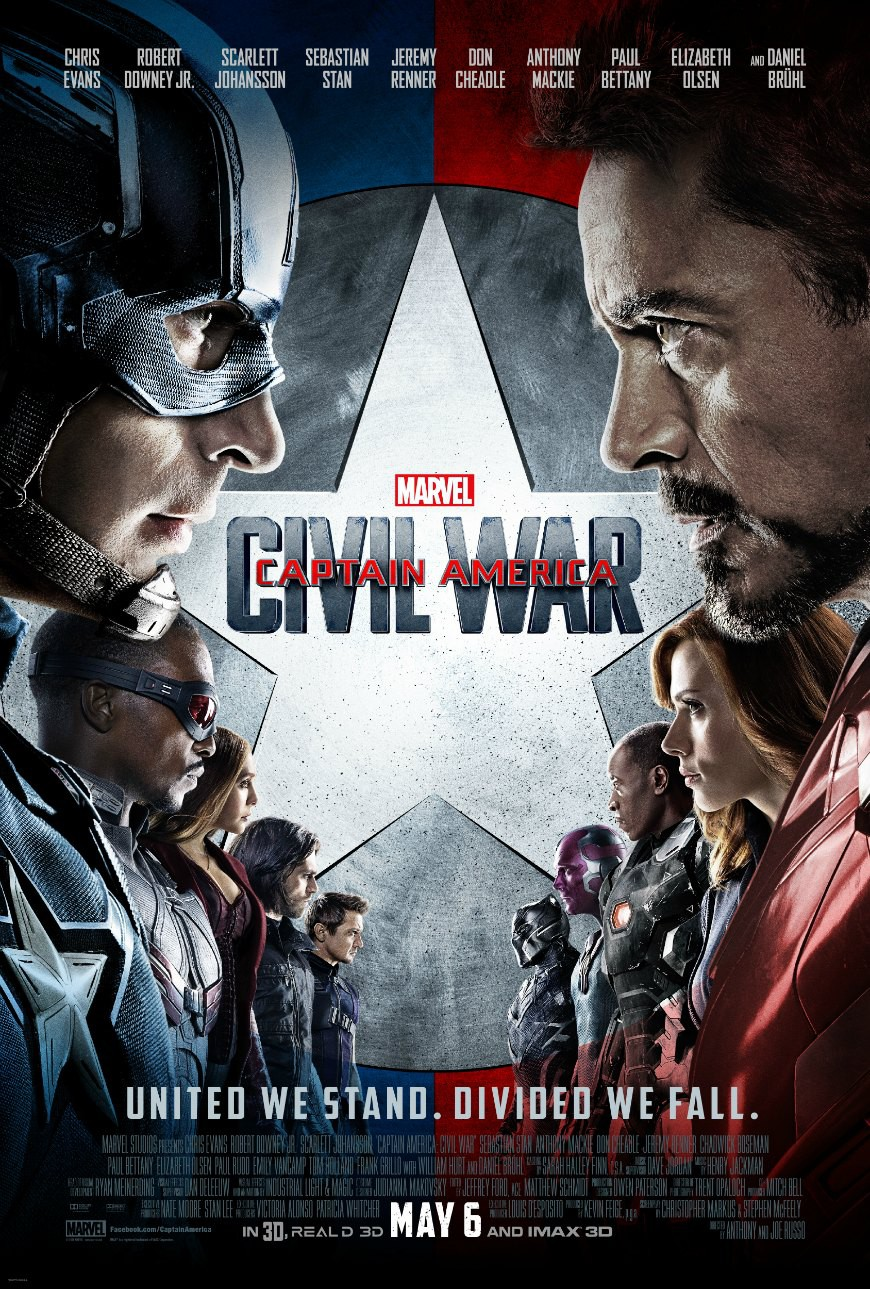Captain America Civil War, Marvel
