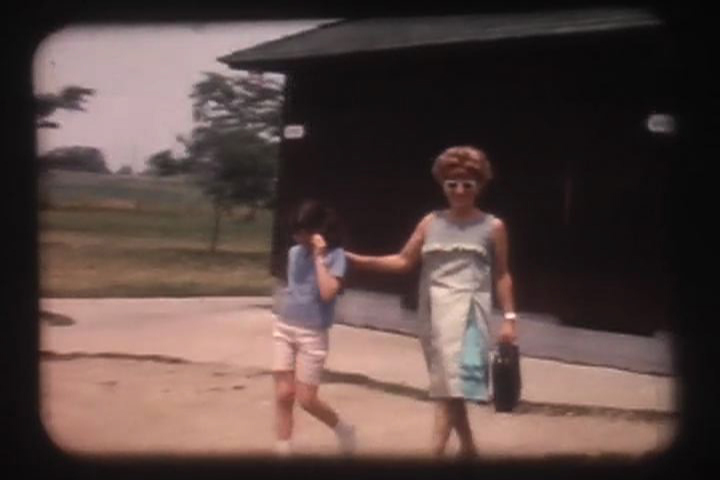 "A still of Gayle Kirschenbaum and her mother, Mildred, from ""Look At Us Now, Mother"""