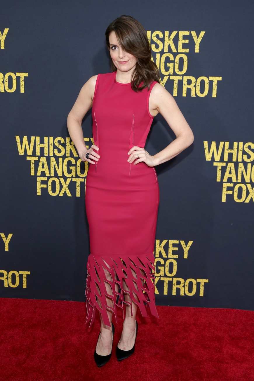 Tina Fey, Whiskey Tango Foxtrot Red Carpet Premiere