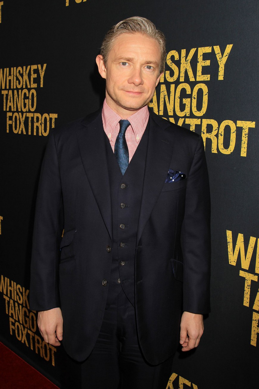 Martin Freeman at the Whiskey Tango Foxtrot Red Carpet Premiere