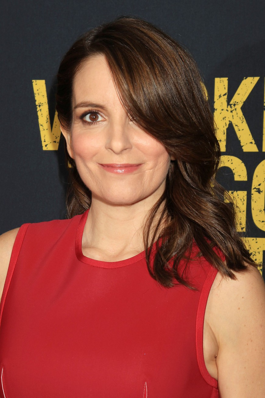 Tina Fey at the Whiskey Tango Foxtrot Red Carpet Premiere