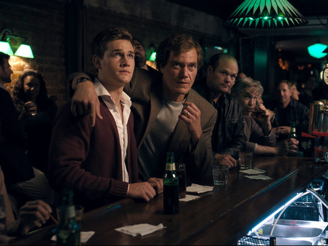 "Taylor John Smith, Michael Shannon and Chris Bauer in ""Wolves"""