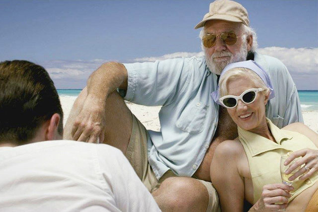"""Giovanni Ribisi, Adrian Sparks, and Joely Richardson in """"Papa: Hemingway in Cuba"""""""