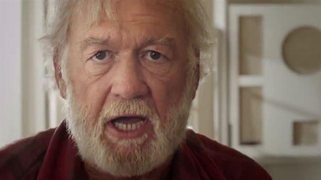 """Adrian Sparks as Hemingway in """"Papa: Hemingway in Cuba"""""""