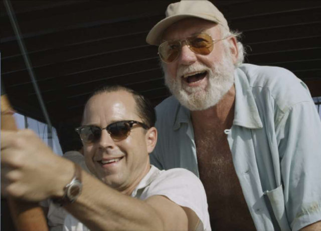 """Giovanni Ribisi and Adrian Sparks in """"Papa: Hemingway in Cuba"""""""