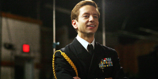 "Andrew Perez as David Miscavige in ""My Scientology Movie"""