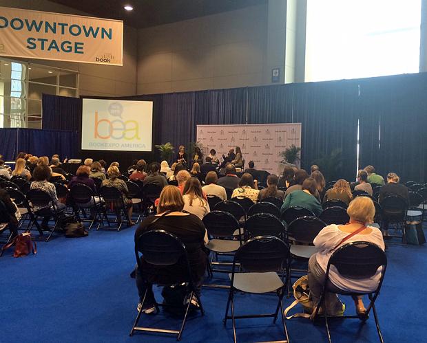 A presentation at Book Expo America | Melanie Votaw Photo