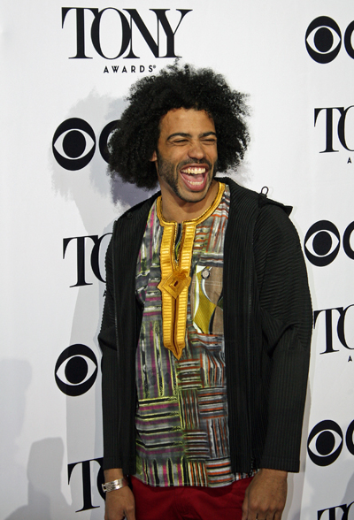 Daveed Diggs is nominated for his dual featured role as Lafayette and Jefferson | Melanie Votaw Photo