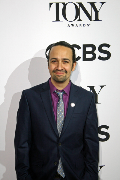 "The man who started it all - writer and star of ""Hamilton,"" Lin-Manuel Miranda 